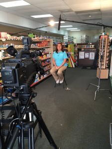 Darien Pharmacy being interviewed and talking about her pharmacy for a broad range of commercial spots that will be running over the next year and more.